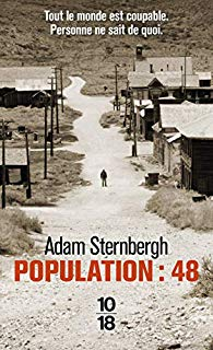 Couverture du roman Population : 48 de Adam Sternbergh
