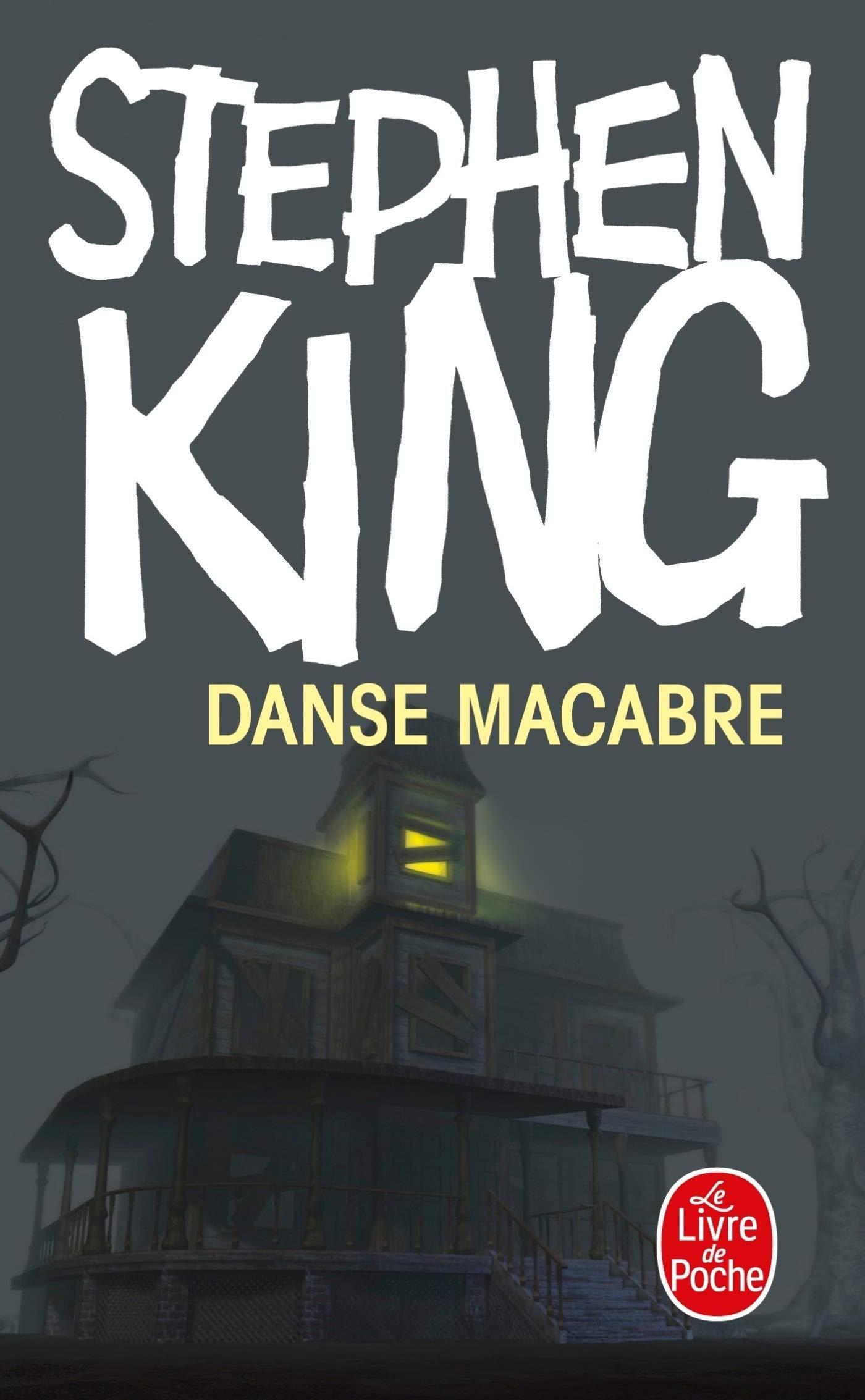 Danse macabre de Stephen King couverture blog littéraire Parlons fiction