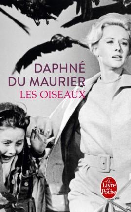 Couverture du recueil de nouvelles Les oiseaux et autres nouvelles de Daphné du Maurier sur le blog littéraire Parlons fiction
